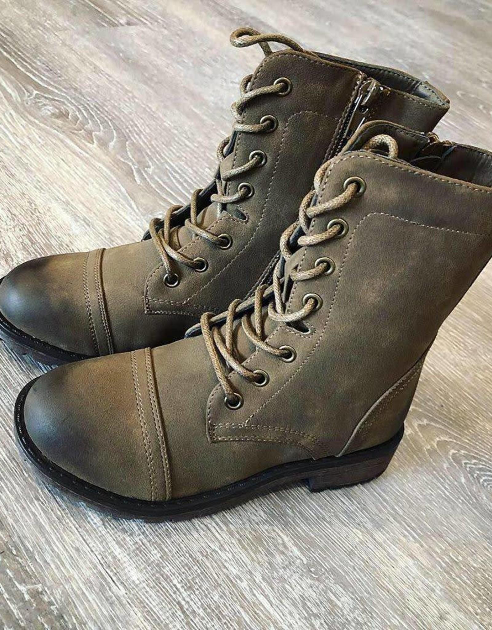 Olivia Army Boot