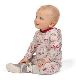 Tesa Babe Baby Christmas Hoodie/Romper