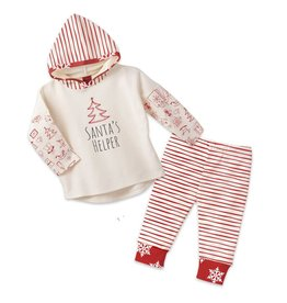 Tesa Babe Santa's Helper Pant Set