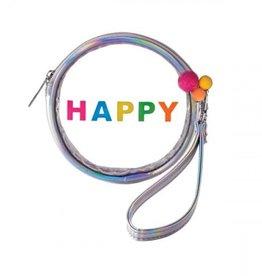 Iscream Happy Keychain/Change Purse