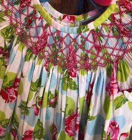 Honesty Rose Geo Bishop Dress
