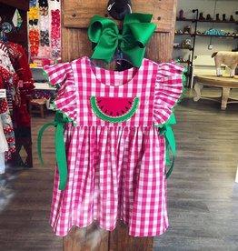 Honesty Watermelon Applique Dress