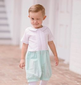 Evie's Closet Linen Romper for Boys