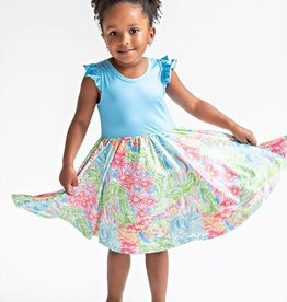 Charlies Project Blue Lilly Hugs Dress