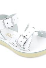 SunSan White Sweetheart Sandal