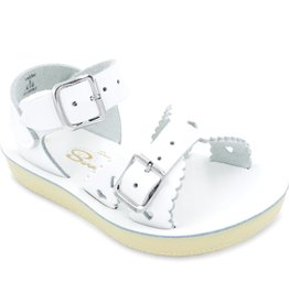 SunSan White Sweetheart Sandal