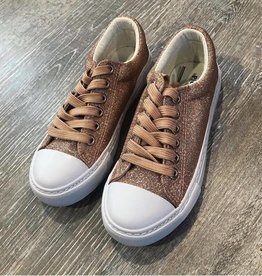 Pierre Dumas Kids Rose Gold Morgan Sneaker