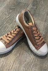Pierre Dumas Kids Rose Gold Morgan Sneaker