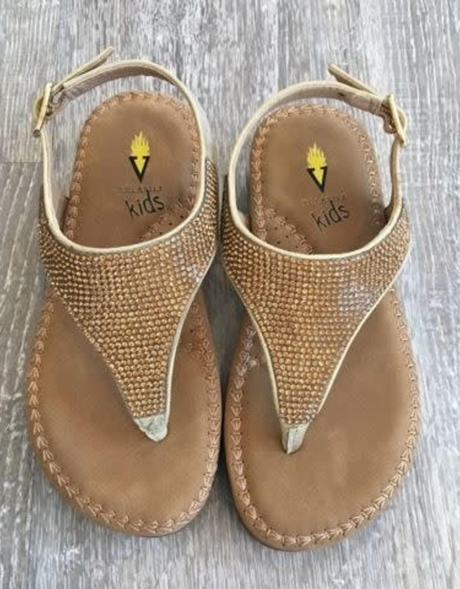Volatile Gold Bumblebee Sandal