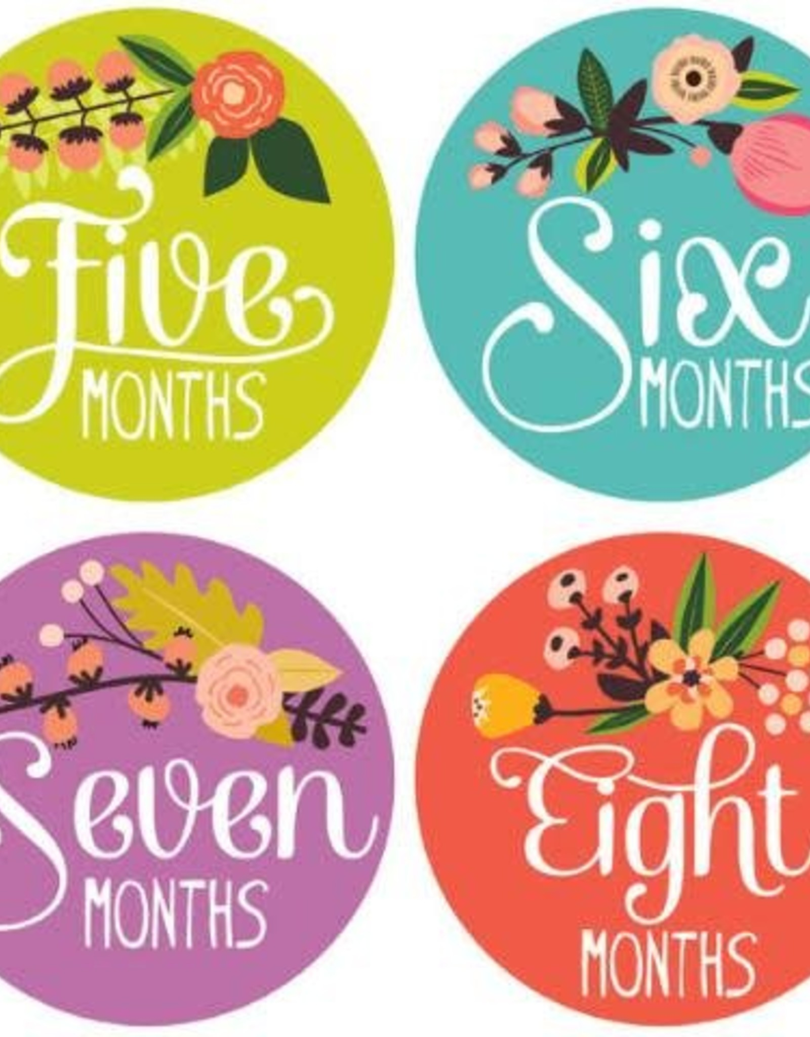 Lucy Darling Little Artist Monthly Stickers