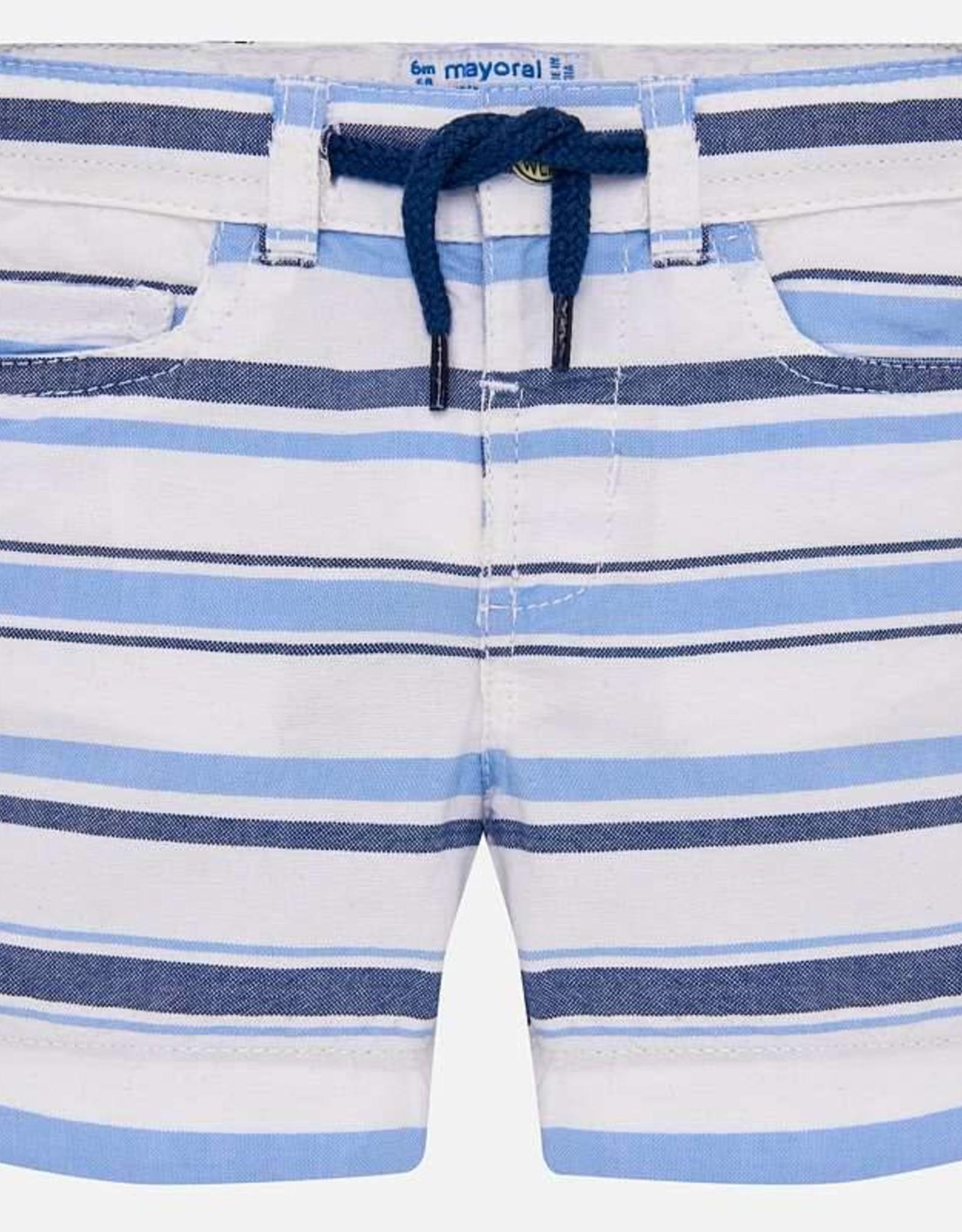 Mayoral Striped Bermuda Shorts