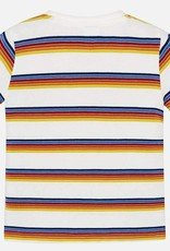 Mayoral Short Sleeved Striped T-Shirt