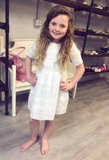 Hayden Embroidered Eyelet Baby Doll Dress
