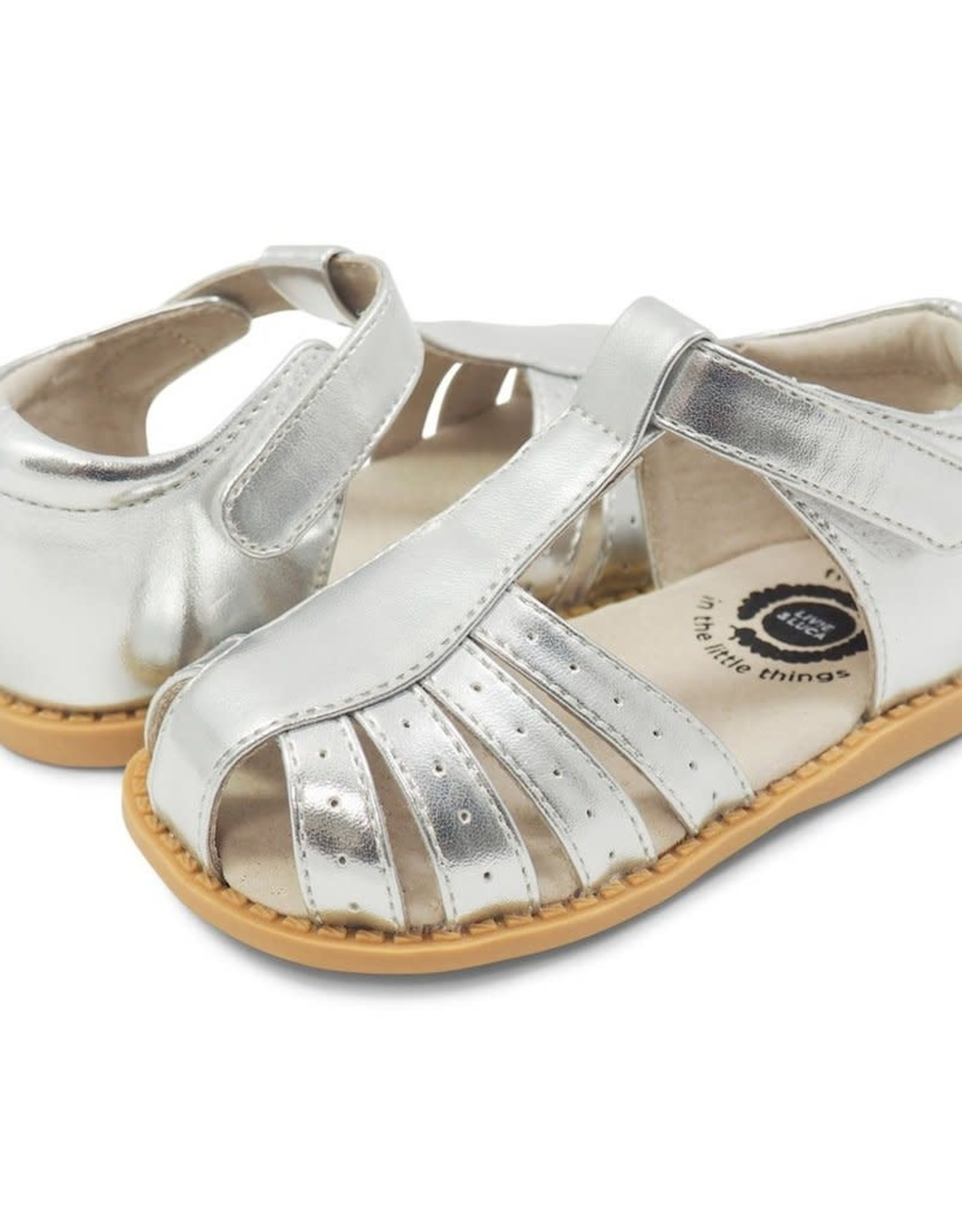 Livie and Luca PAZ Sandal in Platinum