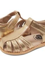 Livie and Luca PAZ Sandal in Gold Metallic