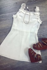 For All Seasons Bailey Dress in White