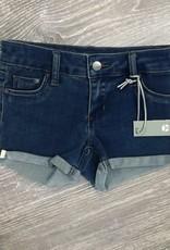 Tractr Indigo Crop Shorts