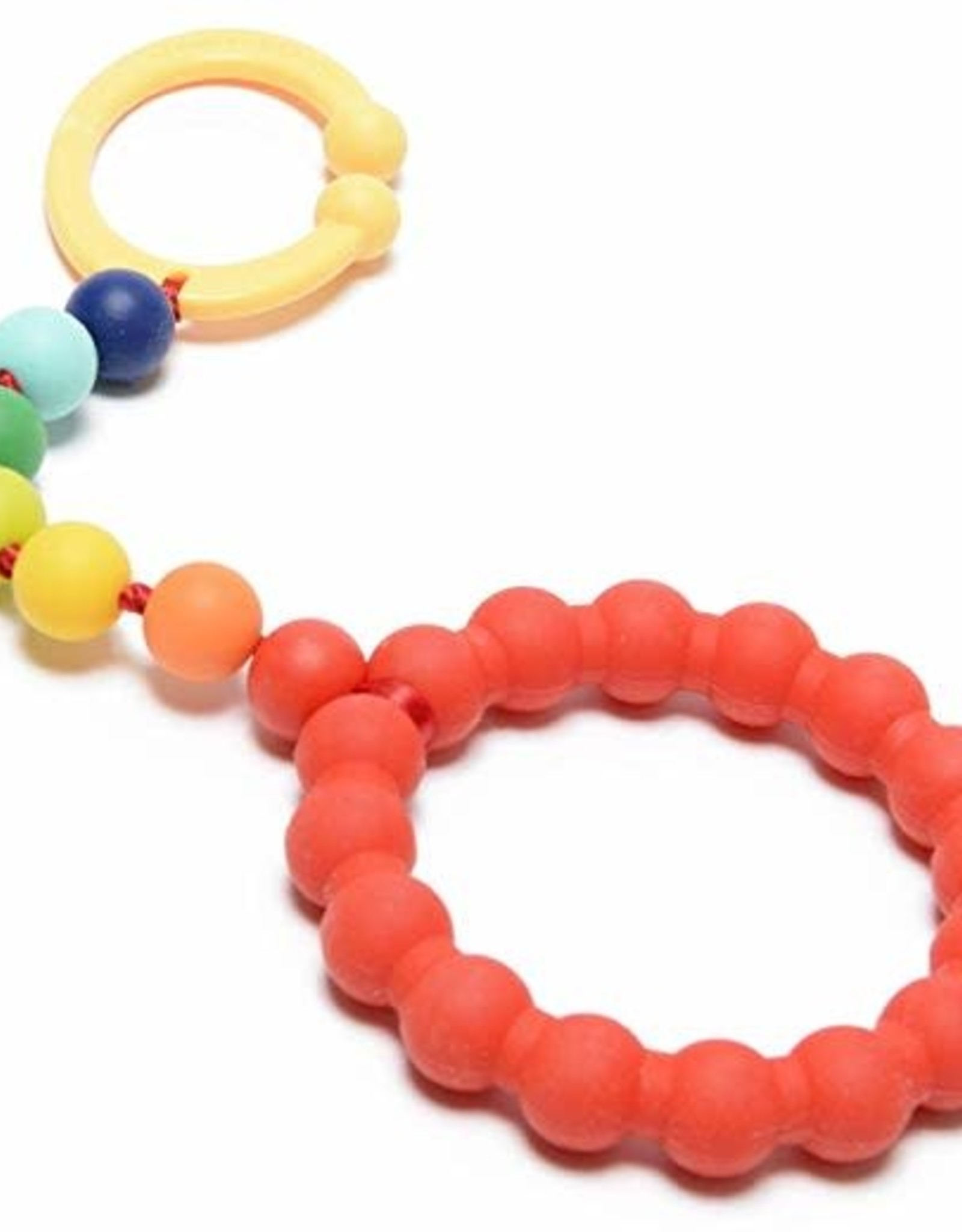 Chewbeads Car Seat and Stroller Toy Rainbow
