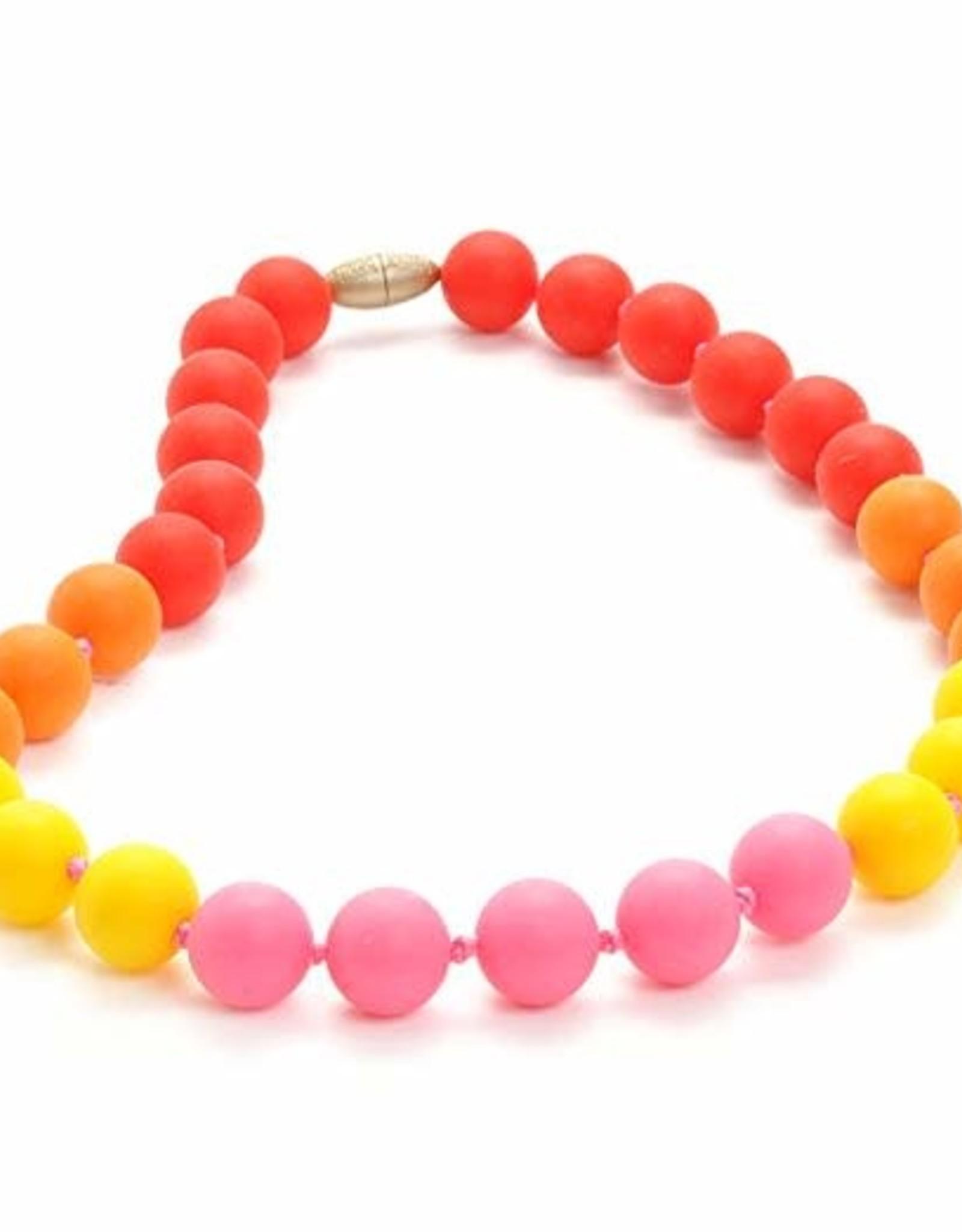 Chewbeads Junior Beads Bleecker Jr Punchy Pink