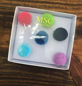 Main Street Collection PomPom Push Pin Set