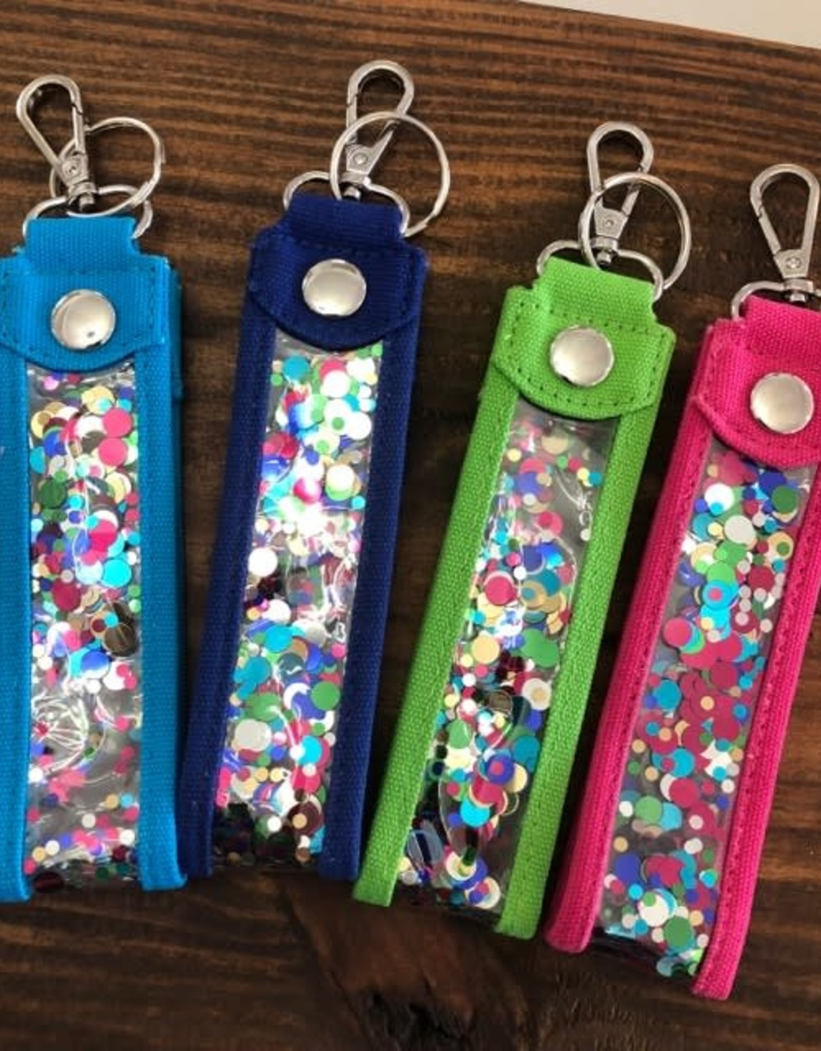 Main Street Collection Confetti Key Fob