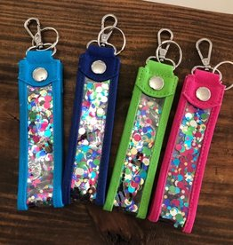 Main Street Collection Confetti Key Fob