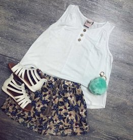 For All Seasons White Macy Top