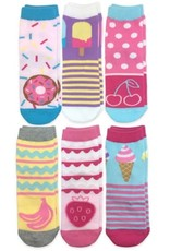 Jefferies Socks Sweet Treats 6/PK Crew Socks