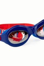 Bling2O Super Dude Blue Goggles