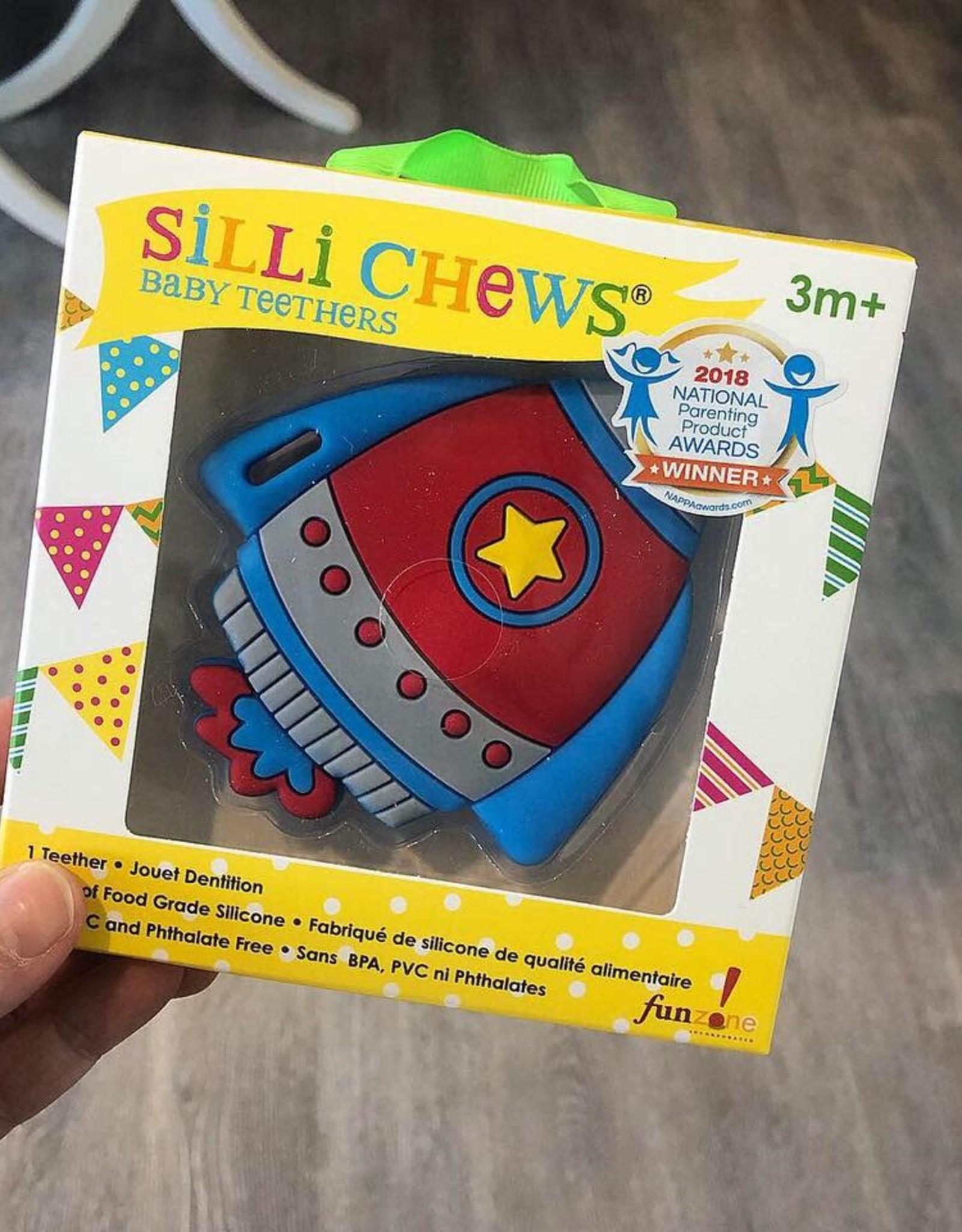 SilliChews Rocket Teether
