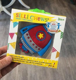 SilliChews Rocket Teether