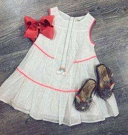 Minoti Dobby Dress