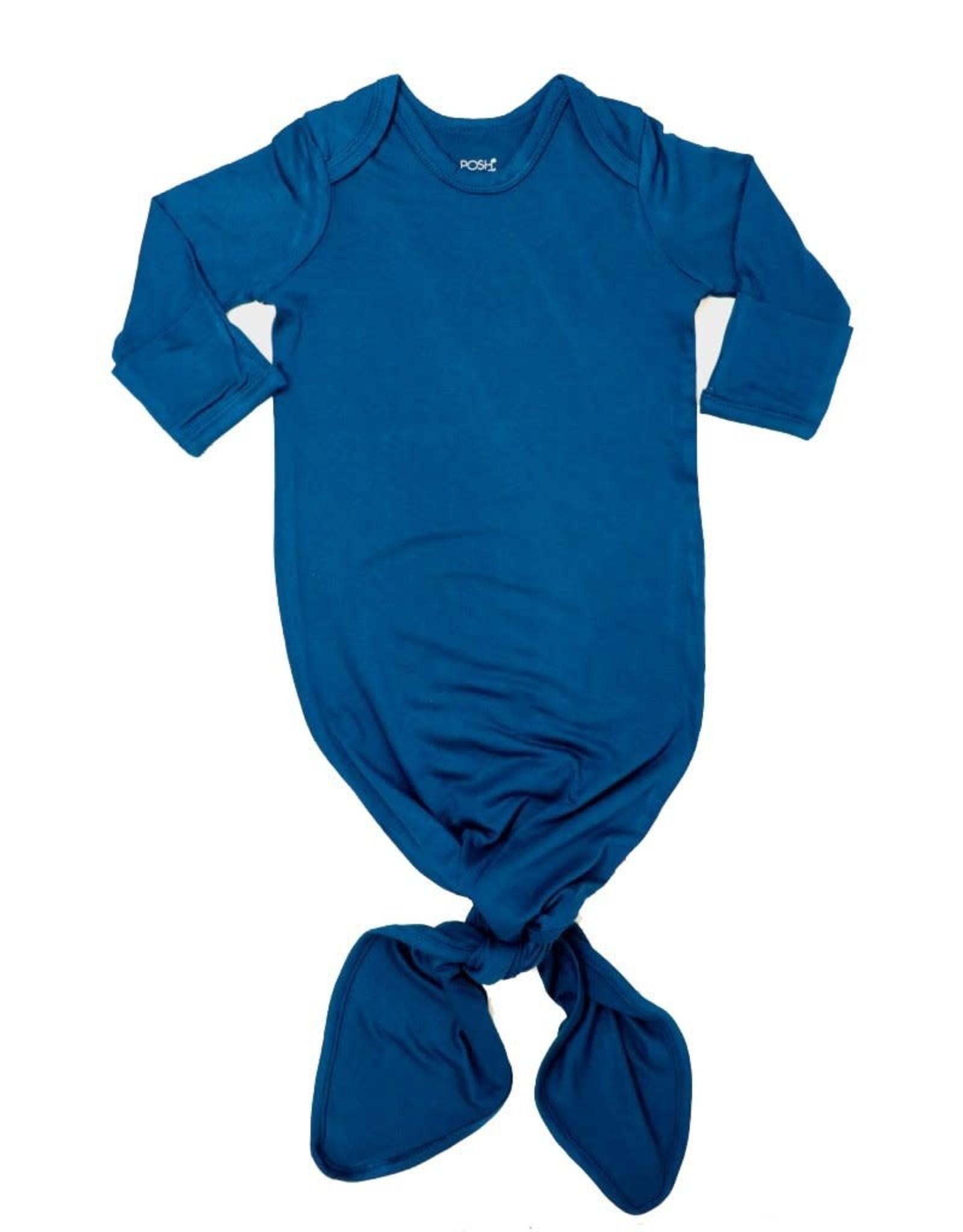 Posh Peanut Sailor Blue Knotted Gown
