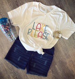 Lake Please Tee