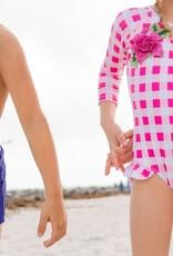 BlueBerry Bay Wisteria One Piece Swimsuit
