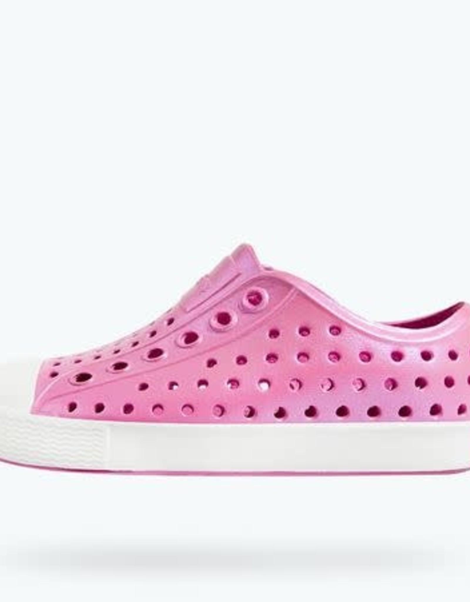 Native Shoes Jefferson in Iridescent Malibu Pink