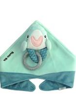 Malarkey Kids Buddy Bib Baby Shark