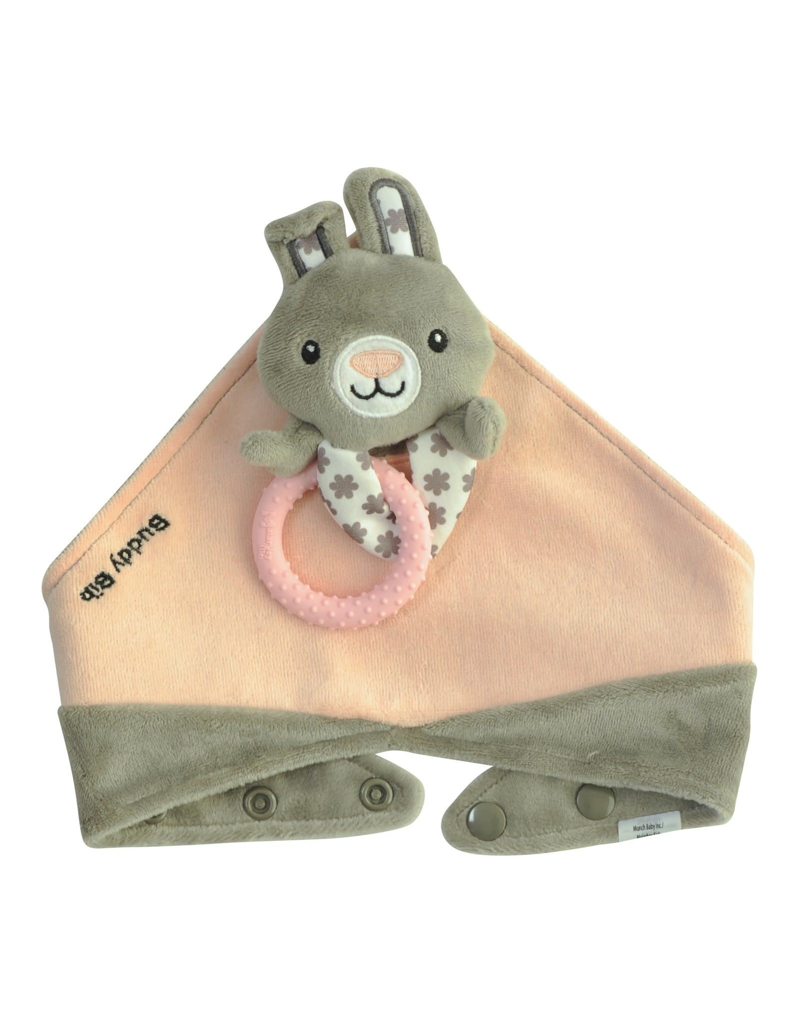 Malarkey Kids Buddy Bib Bouncy Bunny