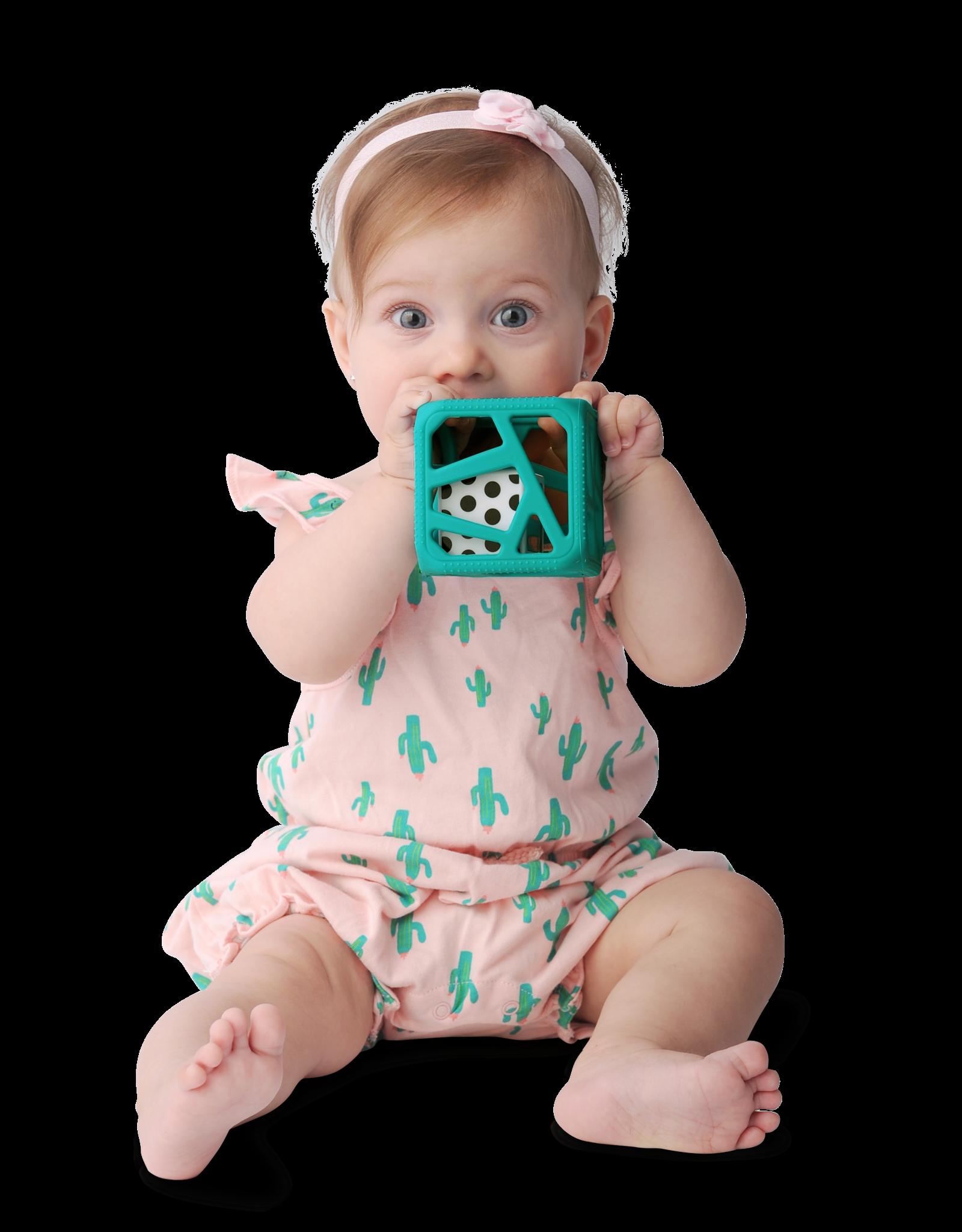 Malarkey Kids Chew Cube Turquoise