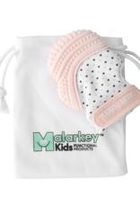 Malarkey Kids Munch Mitt in Pastel Pink/Hearts