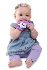 Malarkey Kids Munch Mitt in Purple/Bows