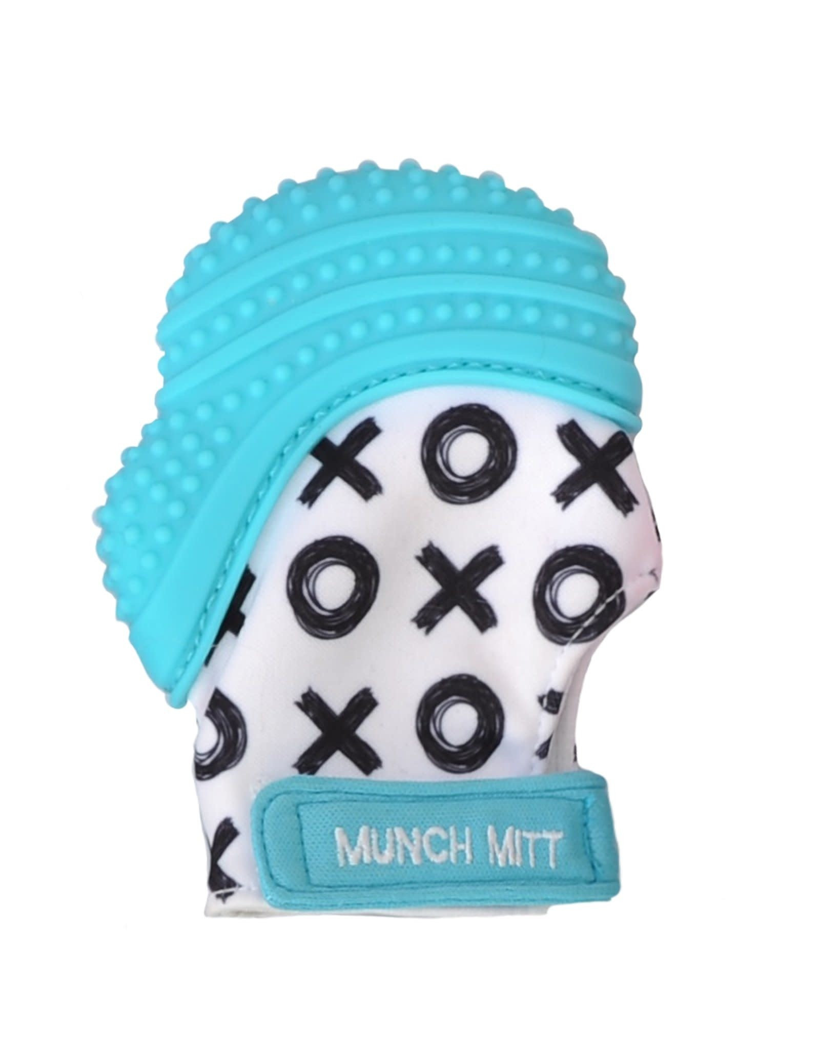 Malarkey Kids Munch Mitt in Aqua/XO