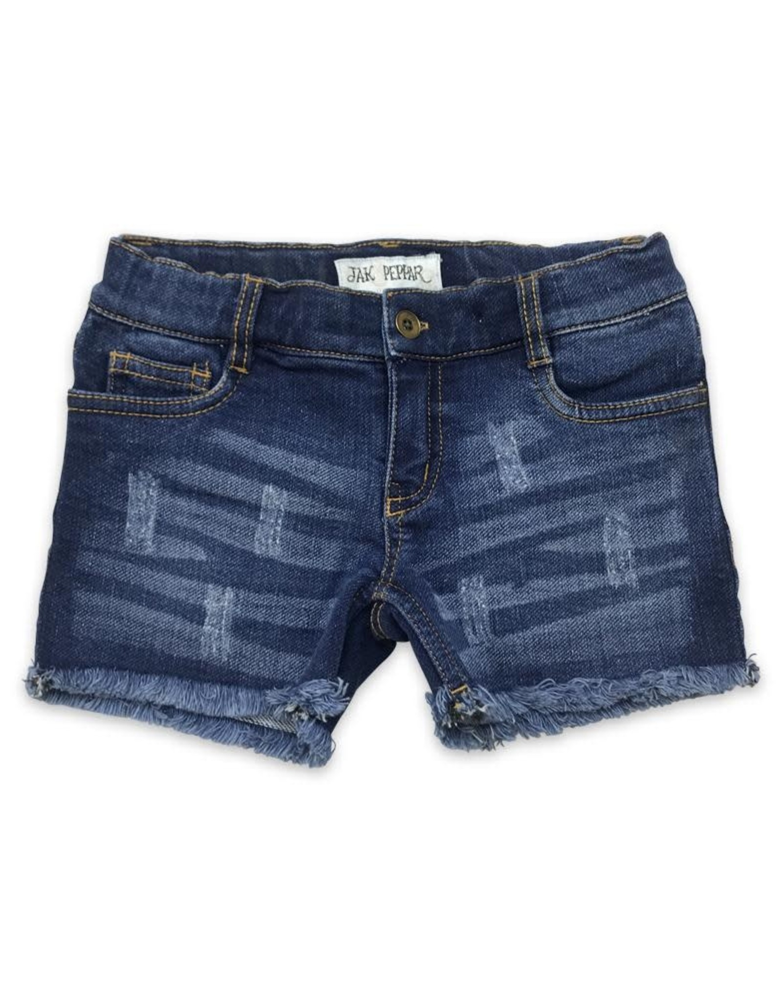 Jak & Peppar Jak Cutoffs in Medium Wash