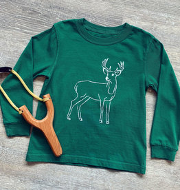 Mustard&Ketchup Kids Long Sleeve Deer T-Shirt