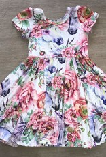 Charlies Project Floral Horse Hugs Collection Dress