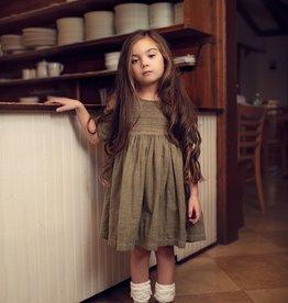 Little Prim Everly Dress in Evergreen