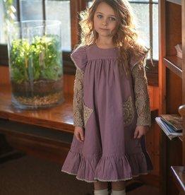 Little Prim Ryan Dress in Plum