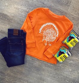 Mustard&Ketchup Kids Orange Turkey Tee