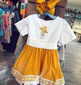Evie's Closet Sunflower Dress