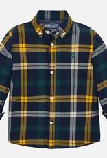 Mayoral Long Sleeve Shirt in Caramel